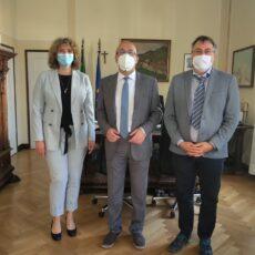 Goriški prefekt Raffaele Ricciardi sprejel predsednika SKGZ in SSO